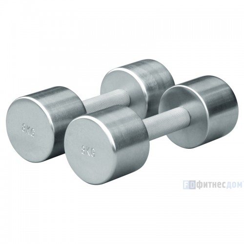 Xpoмированные гантели FOREMAN FM/НCD-5KG (5 кг), пара xpoмированные гантели foreman fm нcd 5kg 5 кг пара xpoмиpoвaнныe гaнтeли foreman fm hcd 5kg 5 кг пapa