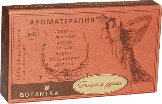 Богиня удачи набор эфирных масел 6х1,5мл Ботаника (6 шт. по 1,5 мл.)