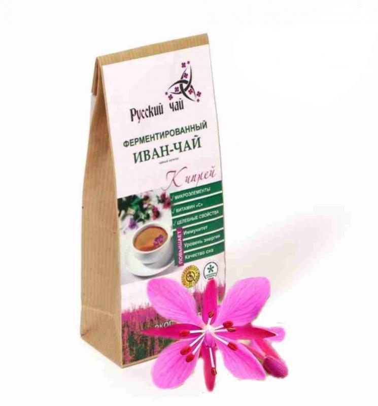 купить Иван-чай с цветами иван-чая Русский чай (75 г) онлайн