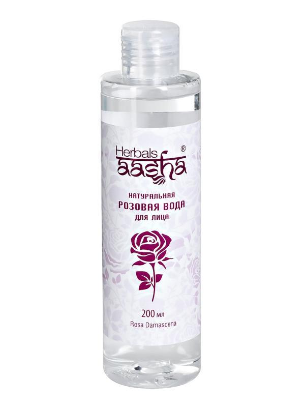 Розовая вода Aasha Herbals (200 мл)