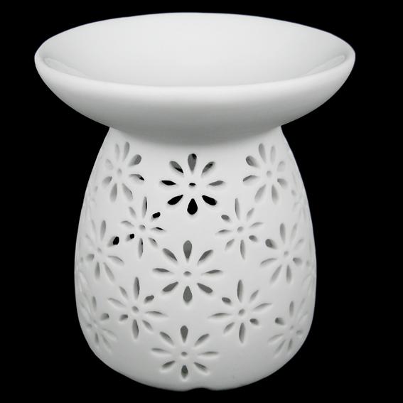 Аромалампа керамическая с цветочным узором 12см аромалампа styx лампа русский чай аромалампа