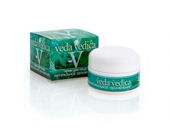 Крем натуральное увлажнение Veda Vedica (50 гр) веда ведика масло кокосовое 100мл