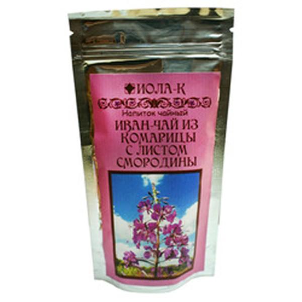 Иван-чай с листом смородины заварной, 75 г (75 г)