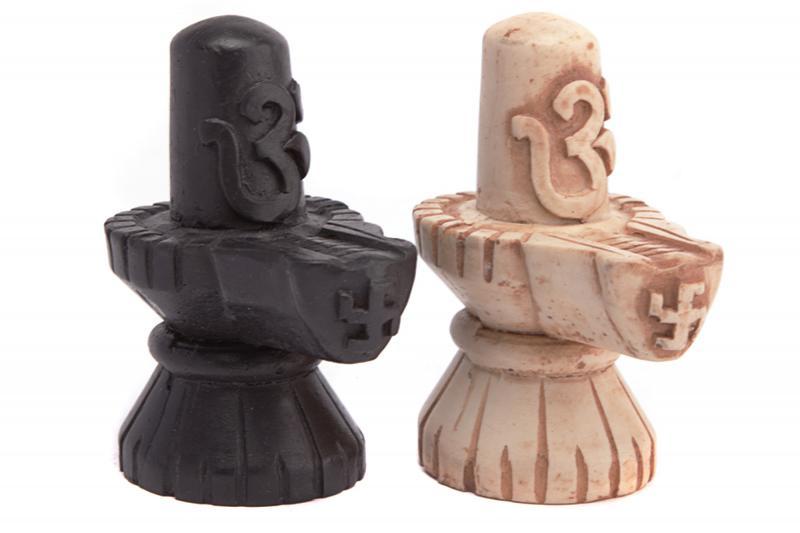 Статуя Шивалингам с символом из керамики 9см (0,05 кг) дэвдатт паттанаик семь секретов шивы
