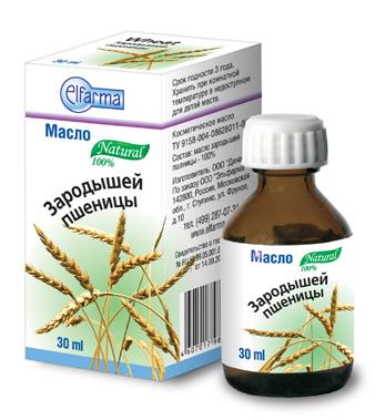 Косметическое масло зародышей пшеницы Elfarma (30 мл) huilargan масло зародышей пшеницы 125 мл