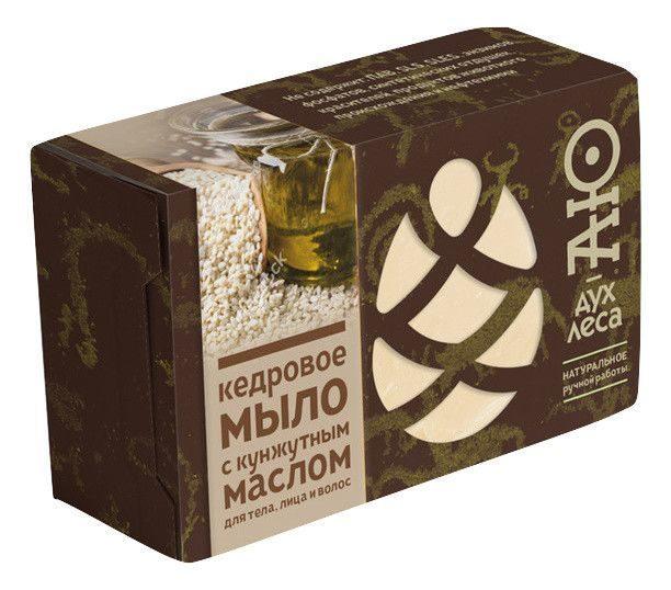 Фото - Мыло кусковое кедровое с кунжутным маслом Аю-дух леса (115 г) мыло кусковое кедровое с льняным маслом аю дух леса 115 г