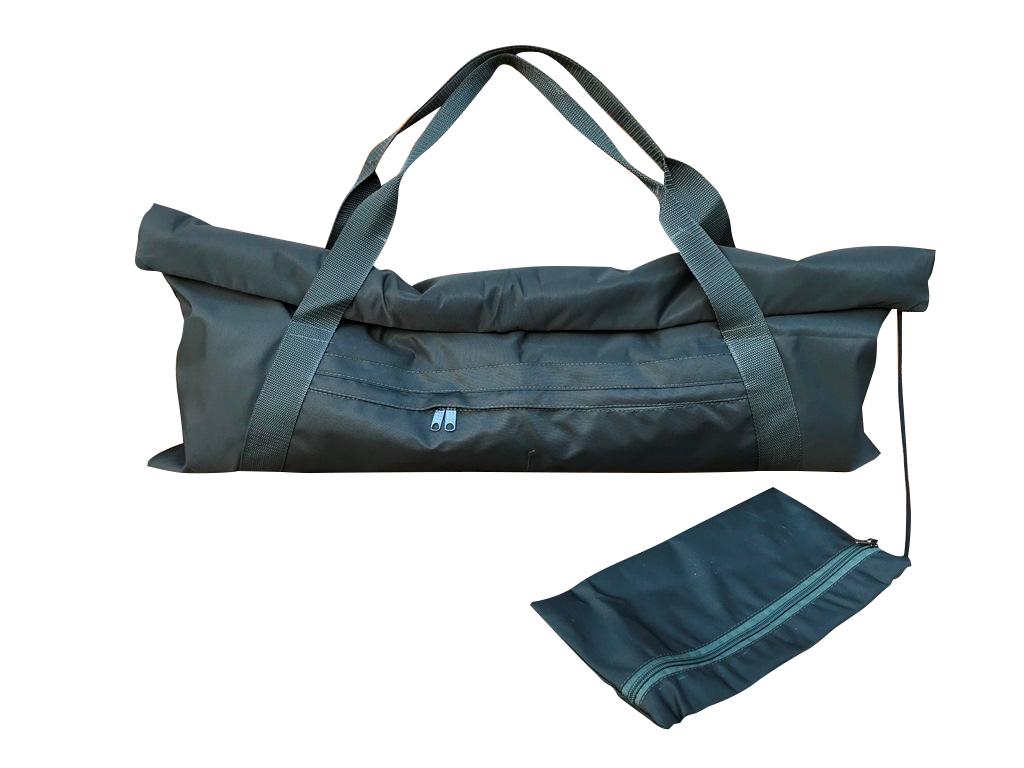 Сумка для коврика Fold Yoga Bag (0,3 кг, зеленый)