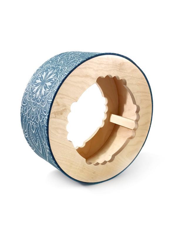 Фото - Йога колесо Mandala Blue (1.6 кг, 32 см, синий) вольф фред алан йога путешествия во времени как разум может преодолеть время
