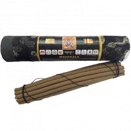 Благовония бутанские махакала mahakala в тубусе 21шт (0,1 кг, черный) благовония бутанские дзамбала zambala в тубусе 21шт