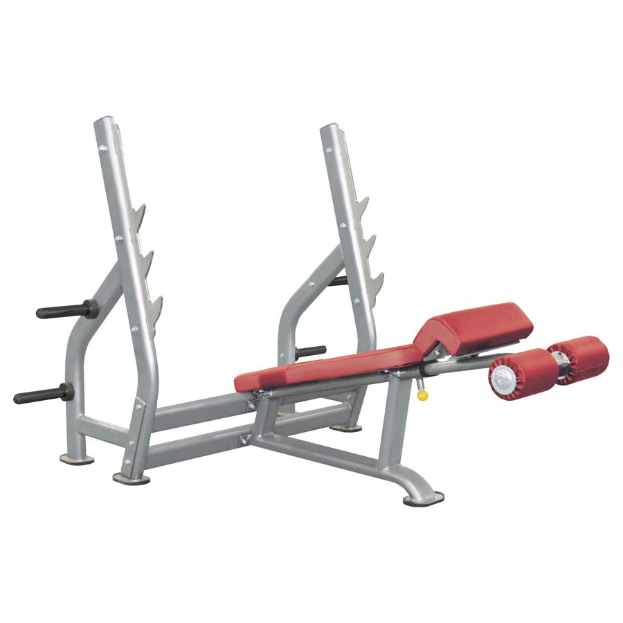 Олимпийская скамья с отрицательным наклоном IT7016  (IT7016 - Олимпийская скамья с отрицательным наклоном)