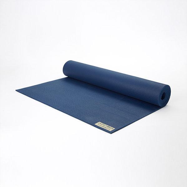Коврик для йоги Jade Travel 3 мм из каучука (1.4 кг, 188 см, 3 мм, темно-синий, 60см) коврик для йоги jade travel 3 мм из каучука jade фиолетовый 185 см 1 5 кг 3 мм 60см