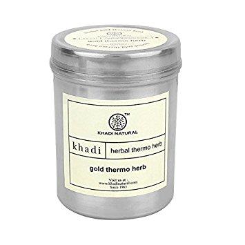 Маска для лица термо с золотом в порошке Khadi Natural ламинария водоросли в порошке купить в аптеке цена