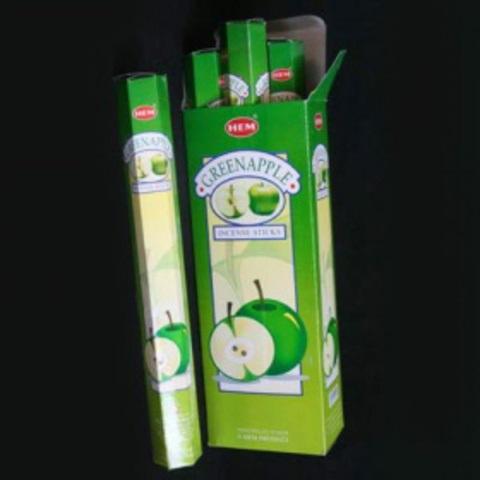 Аромапалочки green apple ( зеленое яблоко) hexa HEM (186GRA) аромапалочки divine harmony hexa hem 20 г