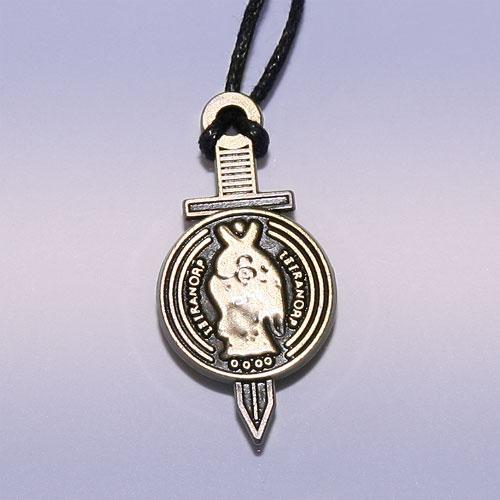 Амулет Божественный меч со щитом Тетраморф кулон ангел на качели авт шеншины
