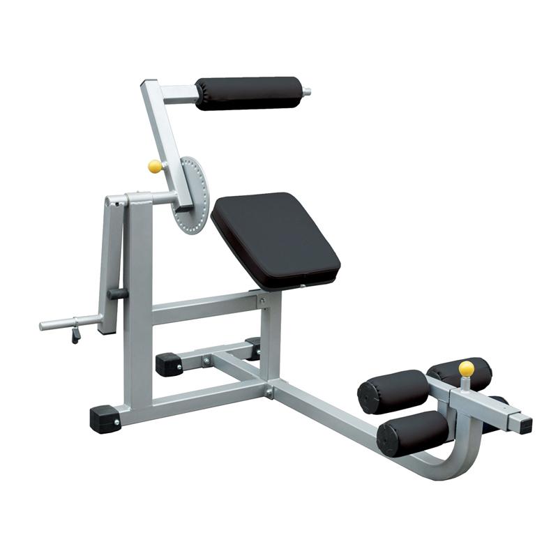 Тренажер, нагружаемый дисками, для спины и пресса (IFABM - Тренажер, нагружаемый дисками, для спины и пресса)