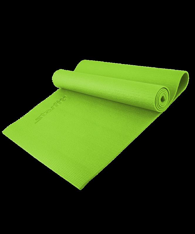 Коврик для йоги Yoga Star 8мм (173 см, 8 мм, зеленый, 60 см) коврик для йоги onerun цвет зеленый 173 х 61 см