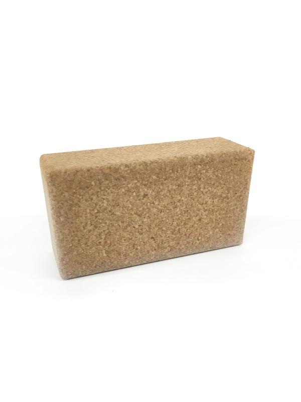 Опорный блок для йоги из пробки (0,6 кг, 5 см, 30 см, 20 см) а блок а блок избранное