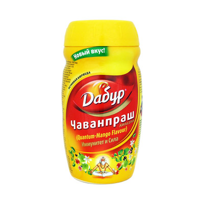 Чаванпраш Дабур Манго Dabur Mango аюрведическое средство от простуды и ангины dabur madhuvaani honitus 150 г