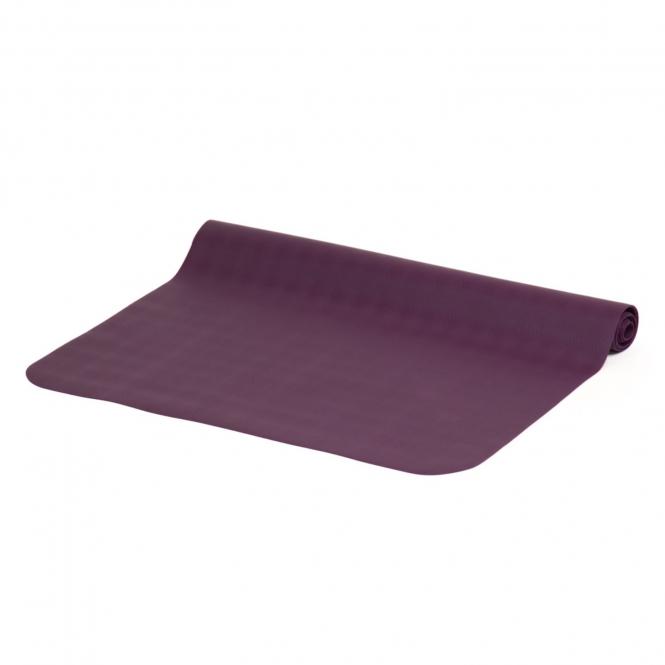 Коврик для йоги EcoPro Travel 1,3мм из каучука (0.9 кг, 185 см, 1.5 мм, фиолетовый, 60см) коврик для йоги jade travel 3 мм из каучука jade фиолетовый 185 см 1 5 кг 3 мм 60см