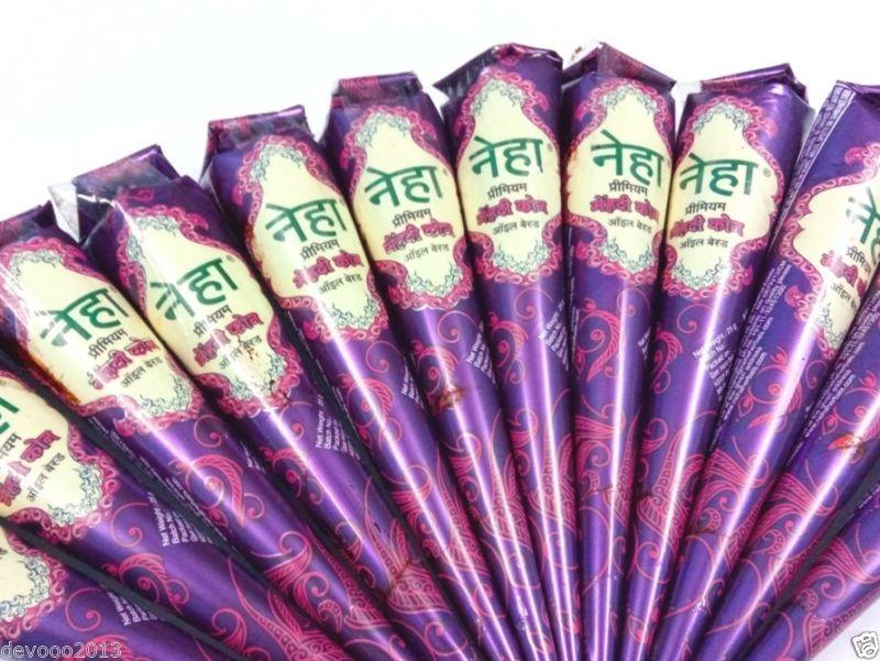 Neha. Мягкий конус хна коричеевая жидкая для биотату Henna Cone 25 г (25 г) цена
