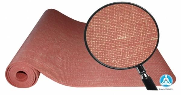 Коврик для йоги Кубера 183х60 см разных толщин