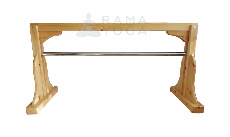 Конь деревянный для занятий йогой (15 кг)