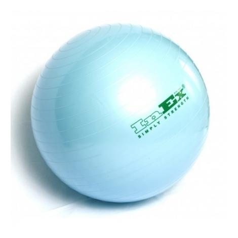 Гимнастический мяч Swiss Ball INEX (55 см, голубой) мяч гимнастический z sports hopping ball 55 см