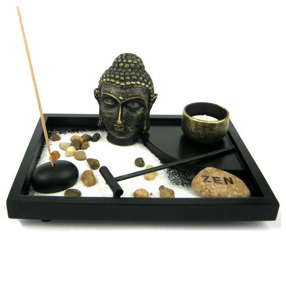 цены Садик Дзен Голова Будда прямоугольный черный 23*15см (0,3 кг)