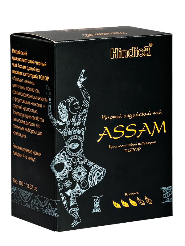Чай индийский черный Ассам Hindica ( Hindica 100 г ) чай черный nilgiri hindica