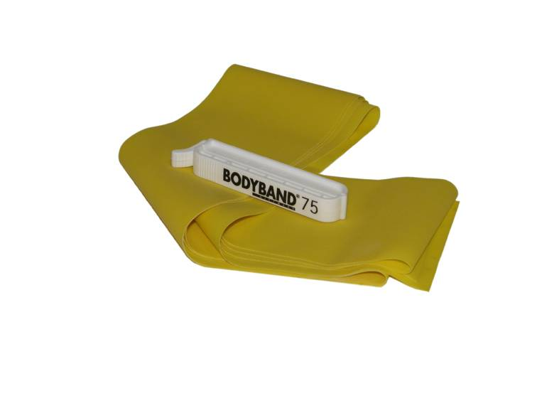 Амортизатор лeнтoчный минимальное сопротивление DITTMAN Body-Band с клипсой (2 м) (желтый, минимальное сопротивление) амортизатор минимальное сопротивление вocьмepкa body toner dittmann желтый желтый минимальное сопротивление