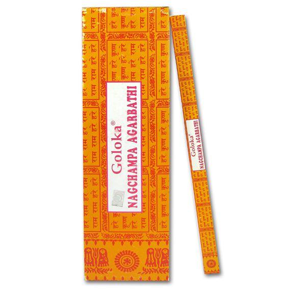 Благовония наг чампа nаgсhаmра agаrbаthi Goloka (8 шт) благовоние lord buddha 25 шт 16 см
