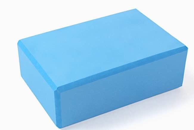 для йоги из пены Рамайога (0,45 кг, 8 см, 23 см, синий, 15 см)