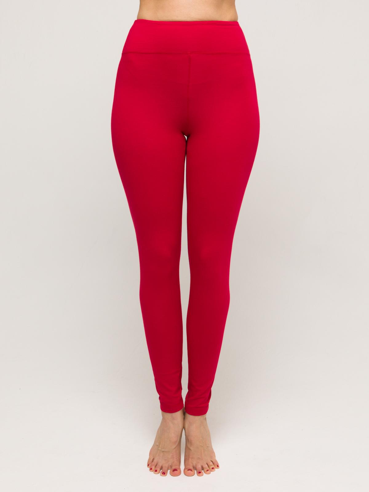 Леггинсы женские Sansara YogaDress (0,2 кг, L (48), красный) леггинсы женские pro fit 89100 blue red m l синий белый красный 46 размер