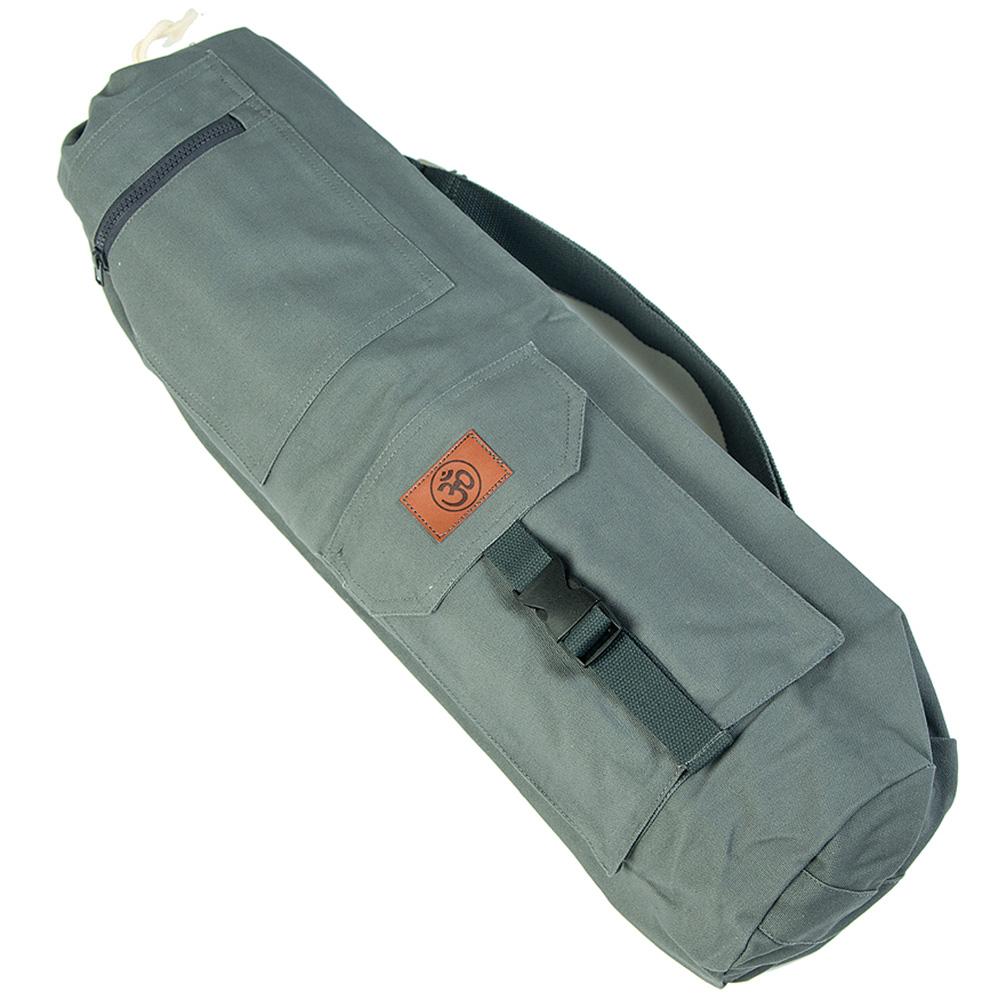 Сумка хлопковая для коврика Сутра DY (0.35 кг, 70 см, серый, 18 см) сумка хлопковая для коврика сутра dy 0 35 кг 70 см синий 18 см