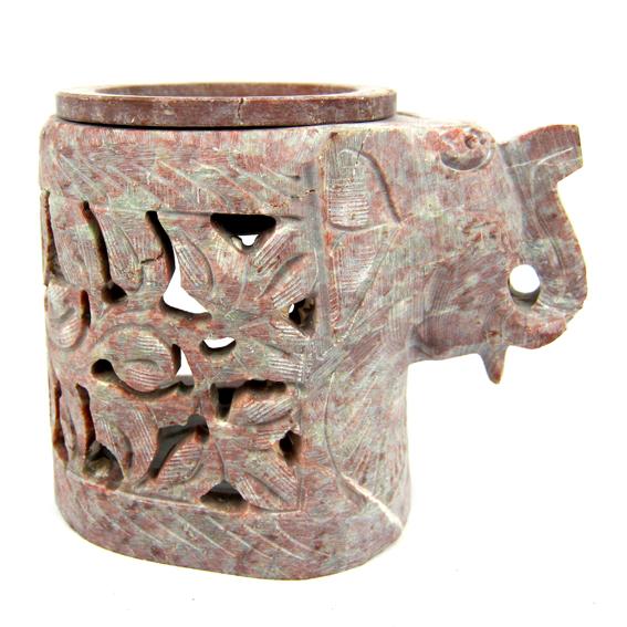 Аромалампа каменная Слон 8см аромалампа слон 12 5см 1152003