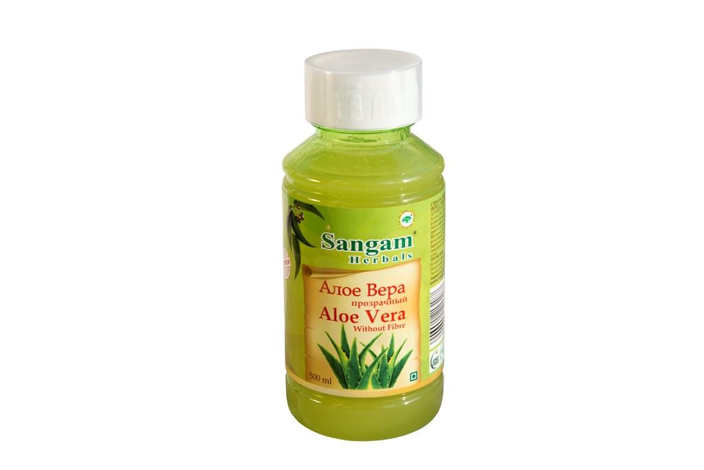 Сок алоэ вера Sangam Herbals (500 мл)