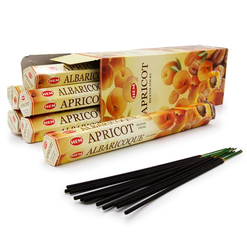 Аромапалочки Абрикос Apricot hexa HEM (20 г) аромапалочки имбирь ginger hem 20 г