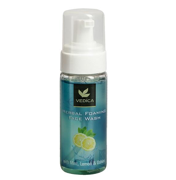 Пенка для умывания с мятой, лимоном и ветивером Veda Vedica (150 мл) крем ночная защита veda vedica 50 г