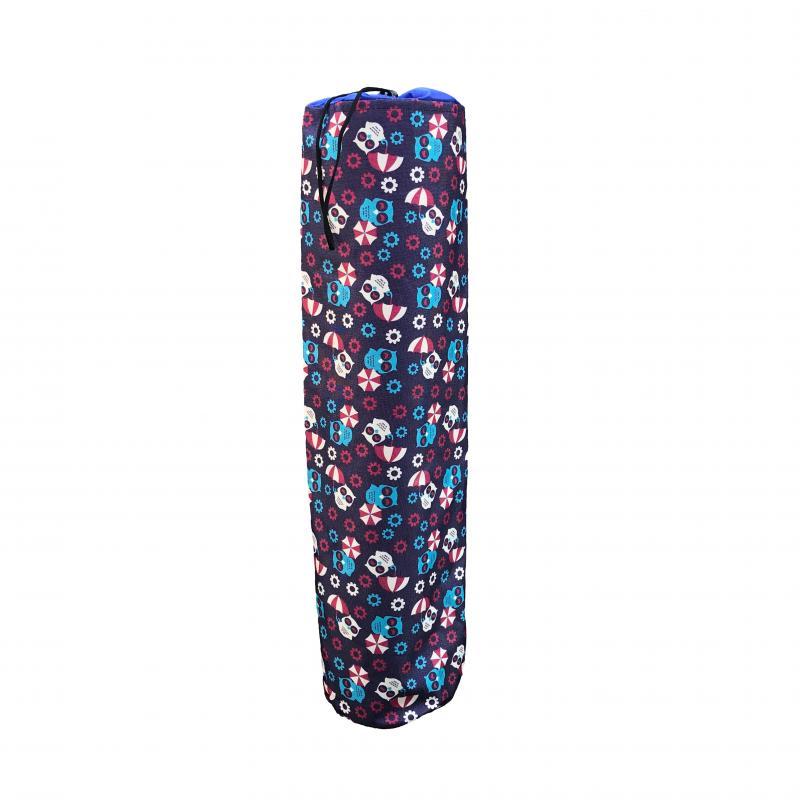 стяжка для йога коврика рамайога 0 1 кг черный Чехол для коврика Совы Рамайога (0,3 кг, фиолетовый)