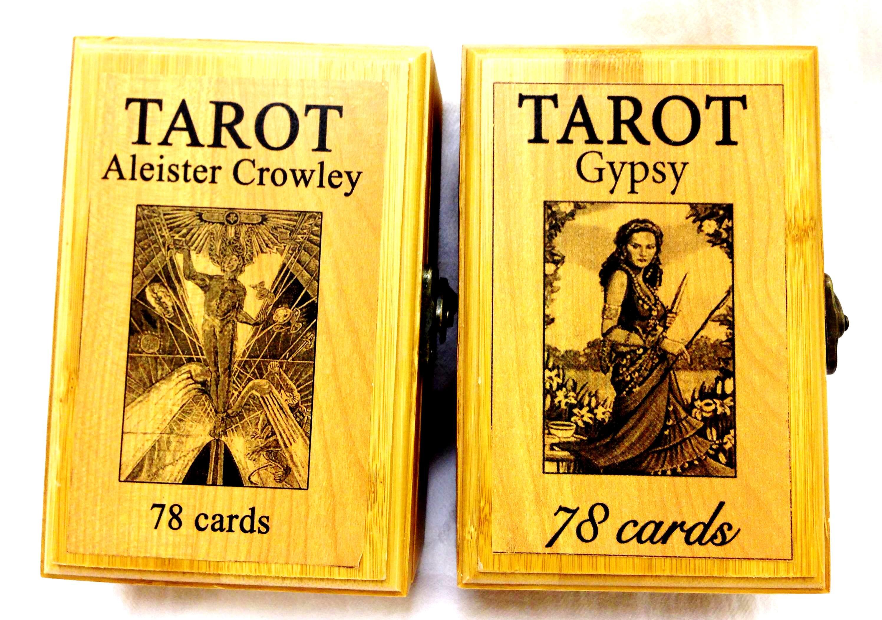 Коробка для карт Таро подарочная дерево (Коробка для карт Таро подарочная дерево)
