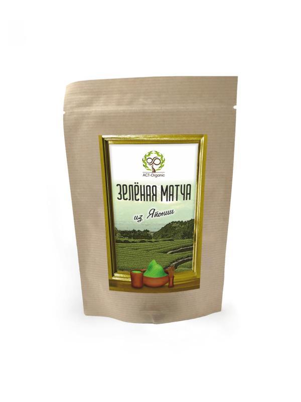 Зеленый чай Матча из Японии ACT-Organic (100 г)
