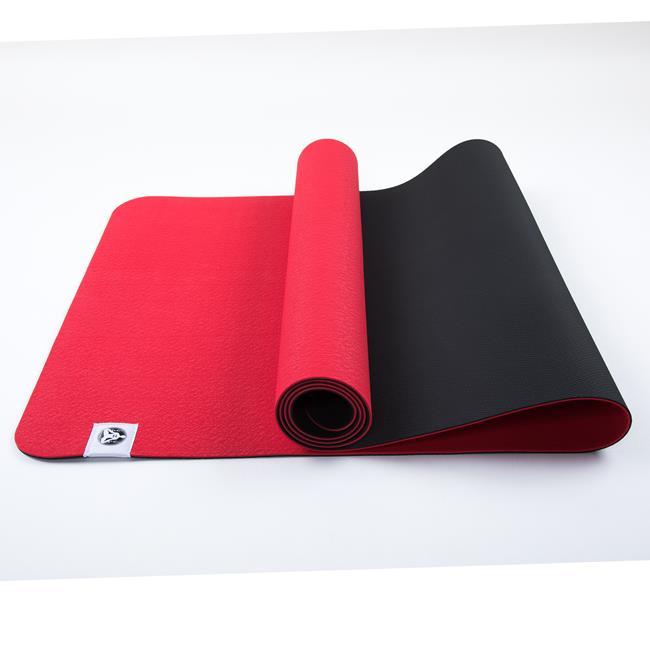 Коврик для йоги Лотос Light Рамайога (0.9 кг, 185 см, 4 мм, красный, 60см) футболка адидас