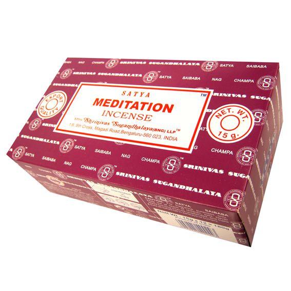 Благовоние Meditation Satya, серия incense благовоние namaste satya серия incense 15 г