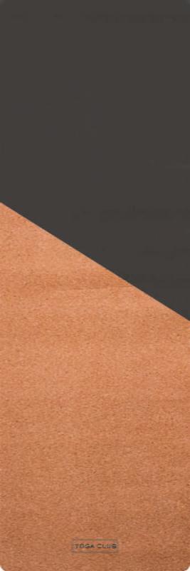 Коврик для йоги Due YC из пробки и каучука (2.5 кг, 185 см, 3 мм, бежевый, 60см) цена