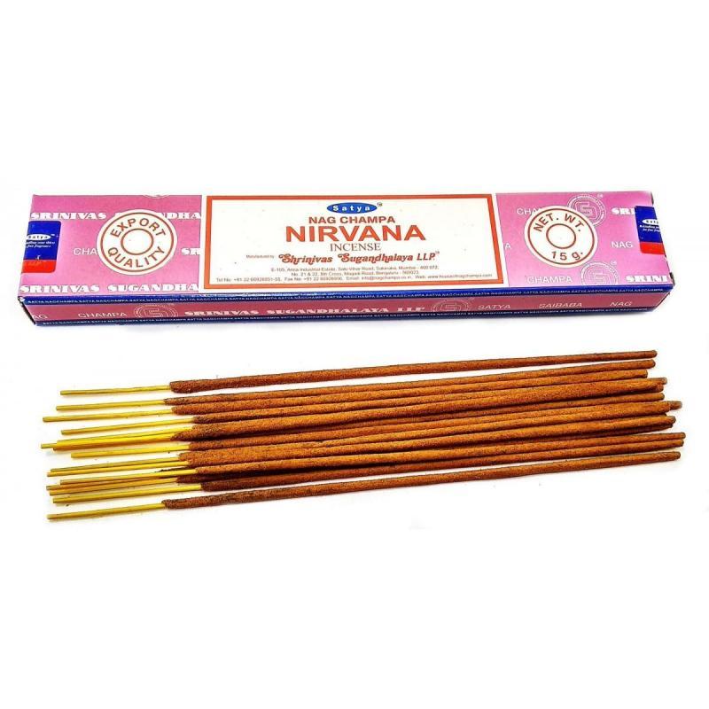 Благовония Nirvana 15 г Satya (15 г) благовония роза frеsh rоsе satya 4 г