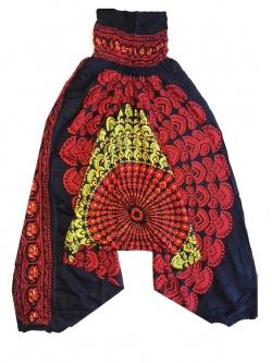 Афгани для йоги Павлин хлопок (0.2 кг, OS (42-46), фиолетовый) одежда для йоги art and craft 08
