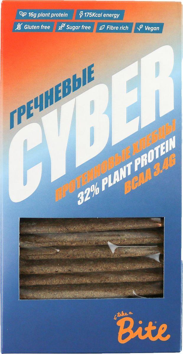 все цены на Хлебцы хрустящие протеиновые Гречневые Cyber Bite (150 г) онлайн