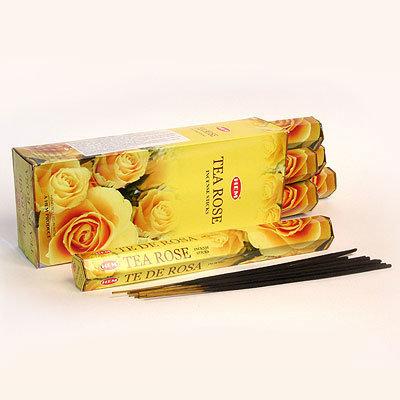 Аромапалочки Tea Rose hexa HEM (20 г) аромапалочки имбирь ginger hem 20 г