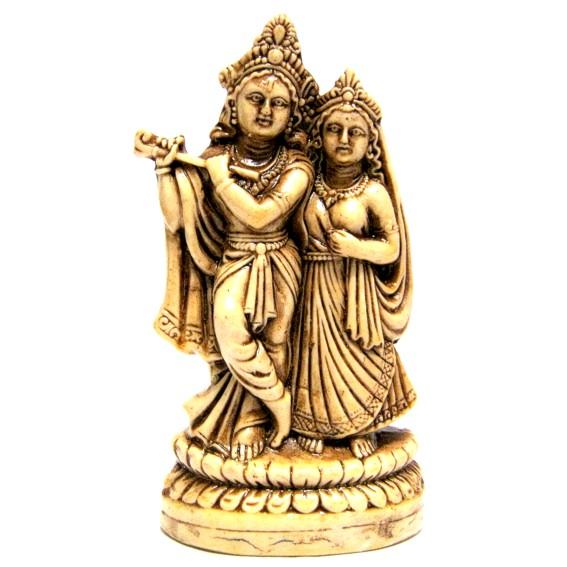 Статуэтка Кришна и Радха (R017)