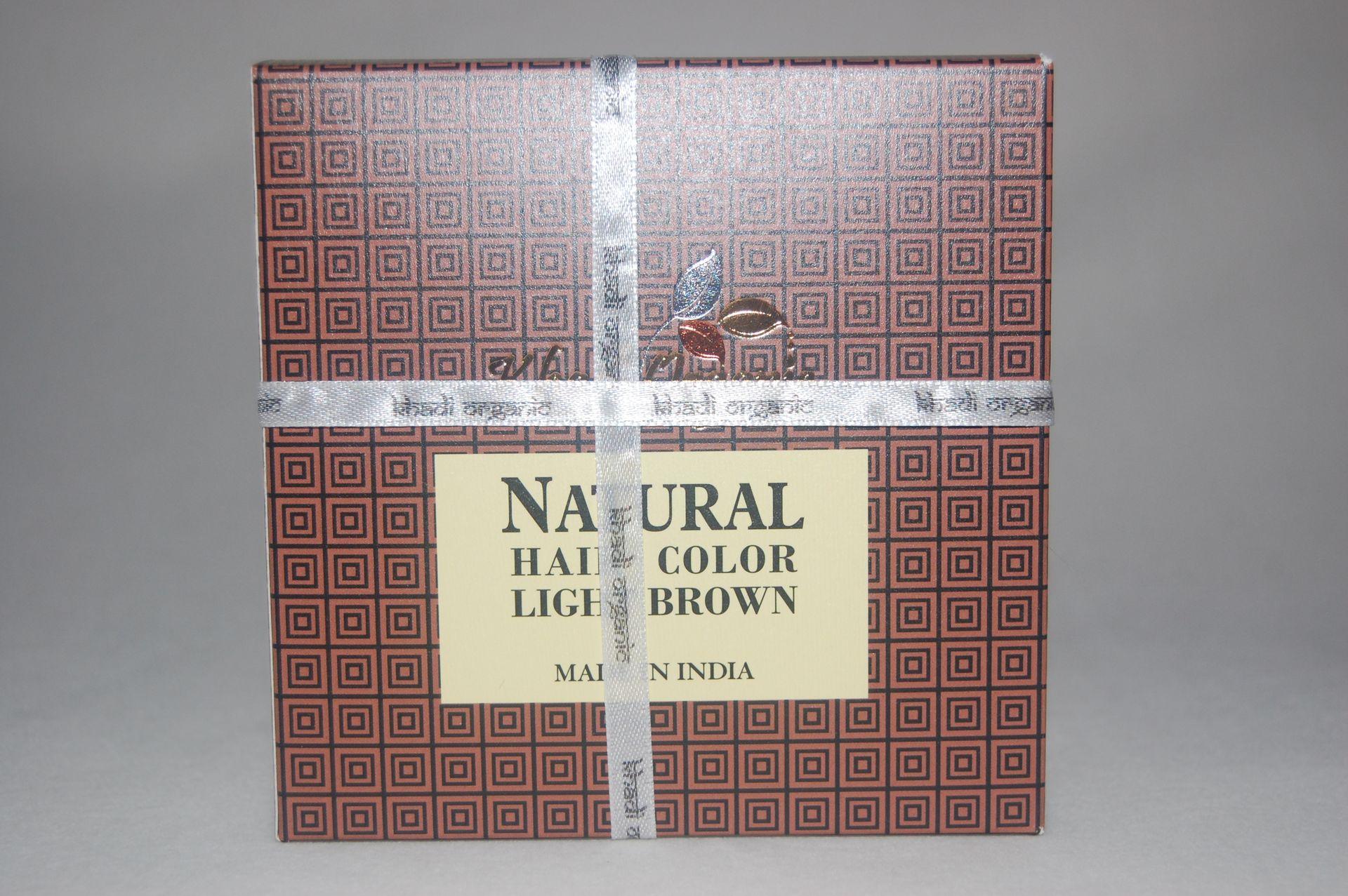 Хна натуральная светло-коричневая Khadi Organic (150 г) saibal das azadirachta indica neem a new insight